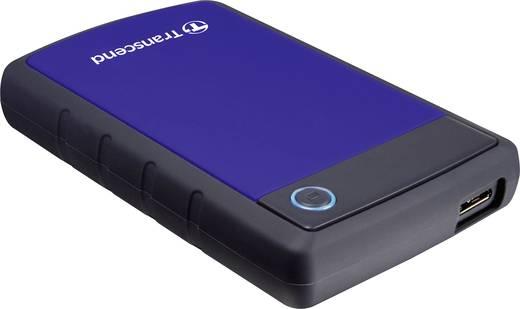 Transcend StoreJet 25H3B Externe Festplatte 6.35 cm (2.5 Zoll) 2 TB Blau-Grau USB 3.0
