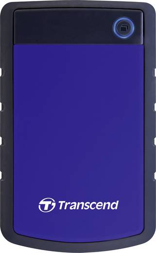 Externe Festplatte 6.35 cm (2.5 Zoll) 1 TB Transcend StoreJet 25H3B Blau-Grau USB 3.0
