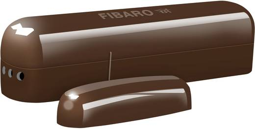 Fibaro FIB_FGK-107 Funk-Tür-, Fensterkontakt Dunkel-Braun Z-Wave