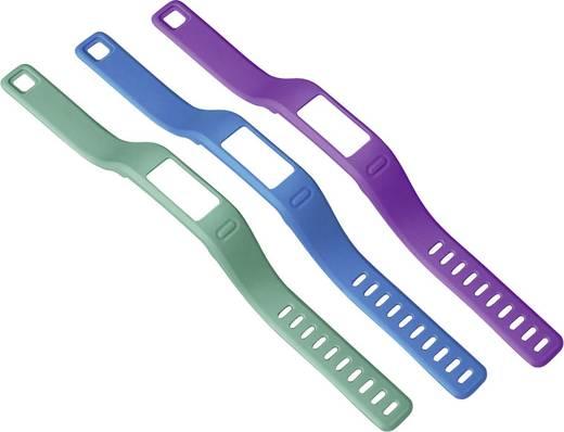 Fitness-Tracker Ersatzarmbänder Garmin Small Größe=S Grün, Lila, Blau