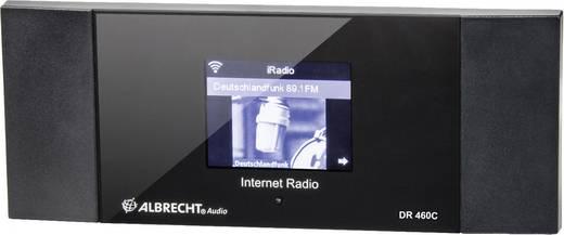 Albrecht DR 460-C Internet Radio-Adapter Internetradio DLNA-fähig Schwarz