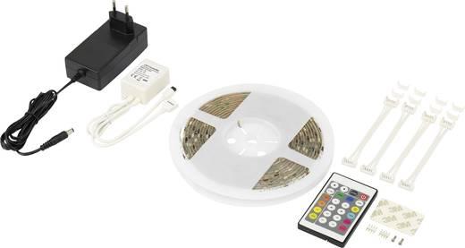 Renkforce LED-Streifen-Komplettset mit Stecker 230 V 500 cm RGB Digital 5MCC316W