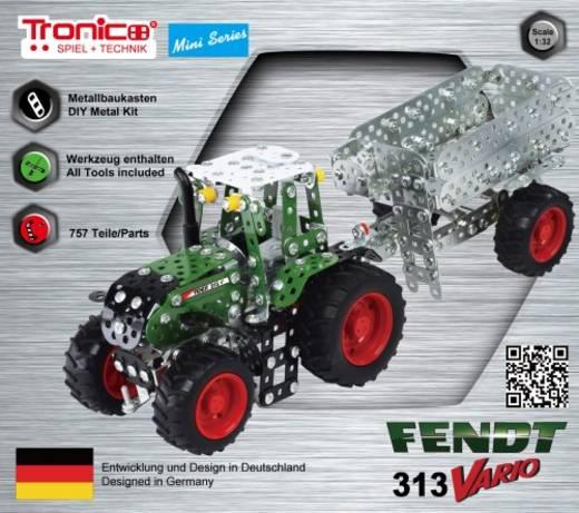 Traktor Fendt 313 Vario mit Anhänger