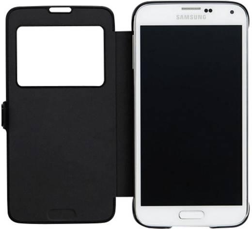 Anymode View Flip Cover Passend für: Samsung Galaxy S5 Schwarz