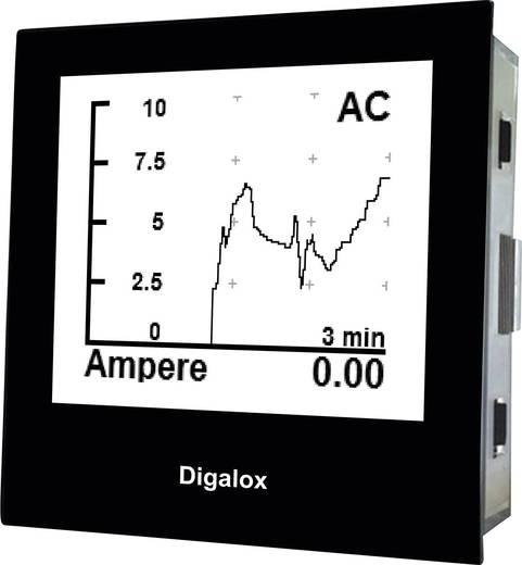 TDE Instruments Digalox DPM72-AV Grafisches DIN-Messgerät für Volt und Ampere TDE Instruments Digalox DPM72-AV