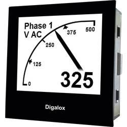 Digitálny panelový merač s USB TDE Instruments Digalox DPM72-AVP 101398, 10 - 24 V AC / DC