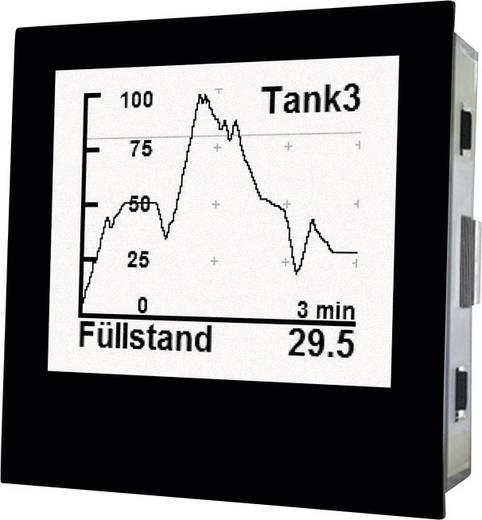 TDE Instruments Digalox DPM72-PP Grafisches DIN-Messgerät für Nebenwiderstand und Analogsignal mit USB-Schnittstelle TDE