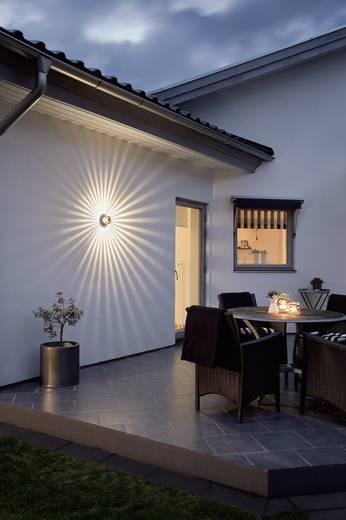 Konstsmide Latina Big 7938-370 LED-Außenwandleuchte mit Bewegungsmelder 12 W Warm-Weiß Anthrazit