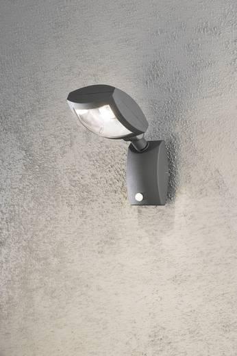 LED-Außenwandleuchte mit Bewegungsmelder 12 W Warm-Weiß Konstsmide Latina Big 7938-370 Anthrazit