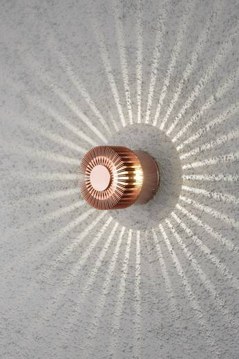 LED-Außenwandleuchte 3 W Warm-Weiß Konstsmide Monza Small 7900-900 Kupfer