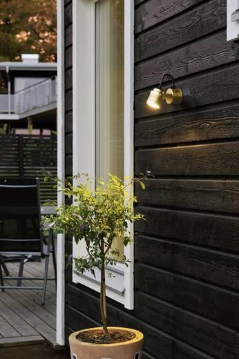 LED-Außenwandleuchte 3 W Warm-Weiß Konstsmide Monza Medium 7903-800 Bronze