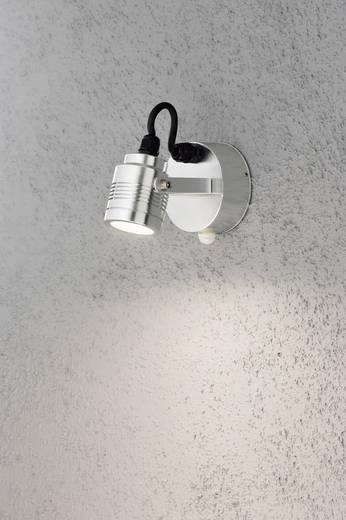 LED-Außenwandleuchte mit Bewegungsmelder 3 W Warm-Weiß Konstsmide Monza Medium 7941-310 Aluminium