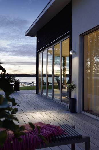 LED-Außenwandleuchte mit Bewegungsmelder 6 W Warm-Weiß Konstsmide Monza Big 7942-310 Aluminium