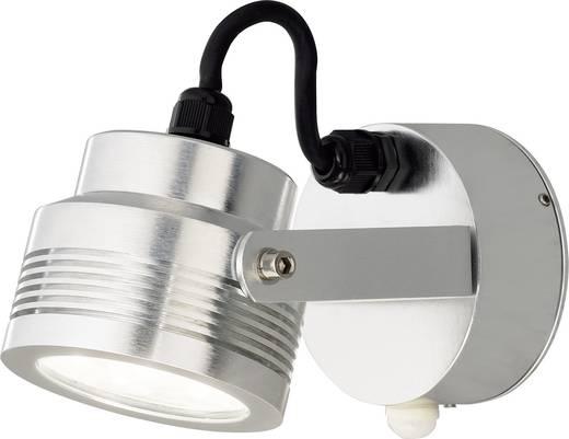 Konstsmide Monza Big 7942-310 LED-Außenwandleuchte mit Bewegungsmelder 6 W Warm-Weiß Aluminium
