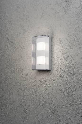 LED-Außenwandleuchte 8 W Warm-Weiß Konstsmide Sanremo Double 7936-310 Grau-Aluminium