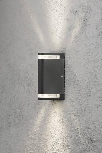 Außenwandleuchte Halogen GU10 70 W Konstsmide Modena Aites 7518-750 Schwarz