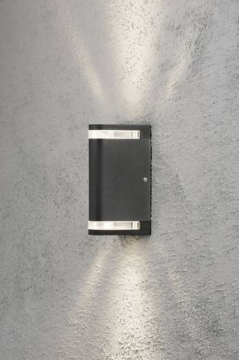 Konstsmide Modena Aites 7518-750 Außenwandleuchte Halogen GU10 70 W EEK: D (A++ - E) Schwarz