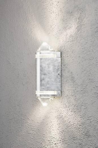 Konstsmide Modena Aites II 7519-320 Außenwandleuchte Halogen GU10 70 W EEK: D (A++ - E) Stahl
