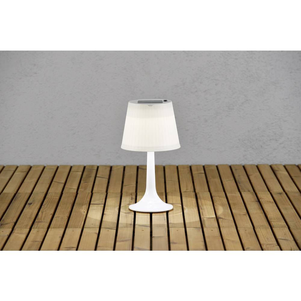 lampe de table solaire konstsmide assis sitra 0 5 w blanc neutre blanc sur le site internet. Black Bedroom Furniture Sets. Home Design Ideas
