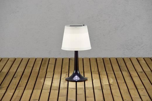 Solar-Tischlampe 0.5 W Neutral-Weiß Konstsmide Assis Sitra 7109-752 Schwarz