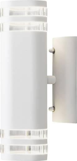 Außenwandleuchte Halogen GU10 70 W Konstsmide Modena Up & Down Big 7516-250 Weiß
