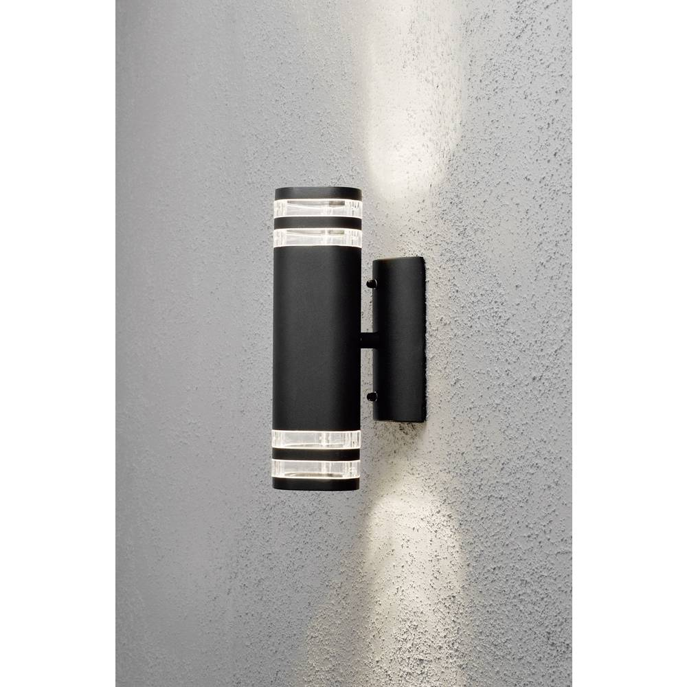 Outdoor wall light HV halogen GU10 70 W Konstsmide from Conrad.com
