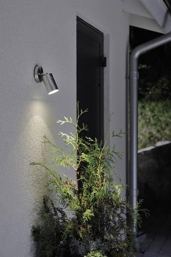 Konstsmide Modena Spot 7598-000 Außenwandleuchte Energiesparlampe, LED GU10 7 W Edelstahl