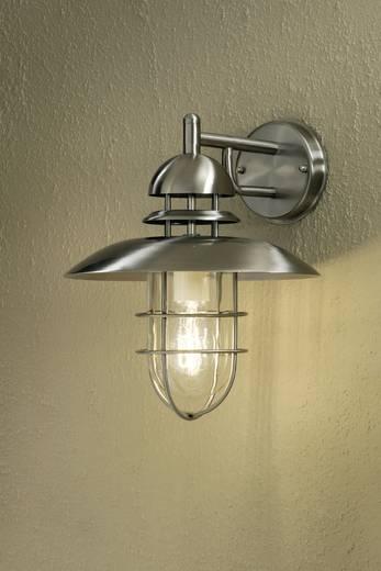 Konstsmide Sorrento 7319-000 Außenwandleuchte Energiesparlampe, LED E27 60 W Edelstahl
