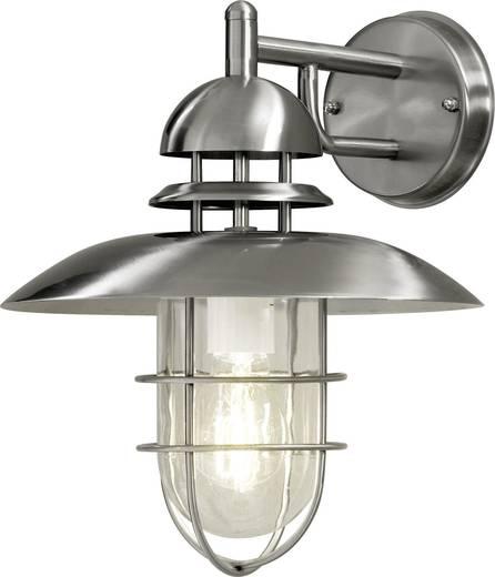 Außenwandleuchte Energiesparlampe, LED E27 60 W Konstsmide Sorrento 7319-000 Edelstahl