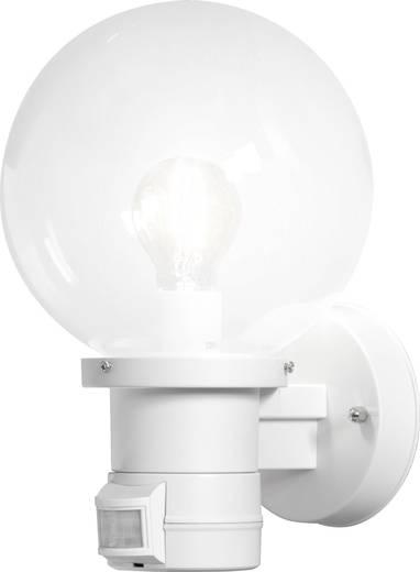 Außenwandleuchte mit Bewegungsmelder Energiesparlampe, LED E27 60 W Konstsmide Nemi Move 7321-250 Weiß