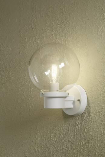 Außenwandleuchte Energiesparlampe, LED E27 60 W Konstsmide Nemi Twighlight 7322-250 Weiß