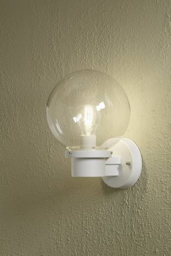 Konstsmide Nemi Twighlight 7322-250 Außenwandleuchte Energiesparlampe, LED E27 60 W Weiß
