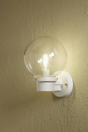 Konstsmide Nemi 7335-250 Außenwandleuchte Energiesparlampe, LED E27 60 W Weiß
