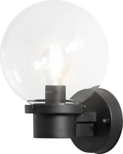 Außenwandleuchte Energiesparlampe, LED E27 60 W Konstsmide Nemi 7335-750 Schwarz