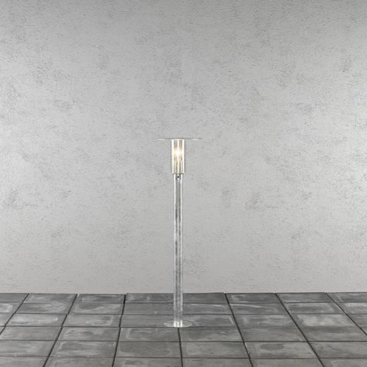 Außenstandleuchte Glühlampe, Energiesparlampe E27 60 W Konstsmide Mode 662-320 Stahl