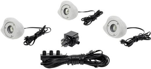 Teichbeleuchtung 3er Set LED 0.35 W Konstsmide 7661-000 Stein-Optik