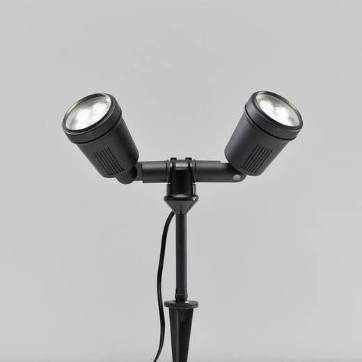Außen-Dekobeleuchtung LED 8 W Warm-Weiß Konstsmide Amalfi 7641-000 Schwarz