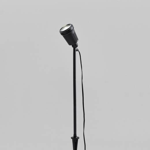 LED-Gartenleuchte LED 4 W Warm-Weiß Konstsmide Amalfi 7642-000 Schwarz