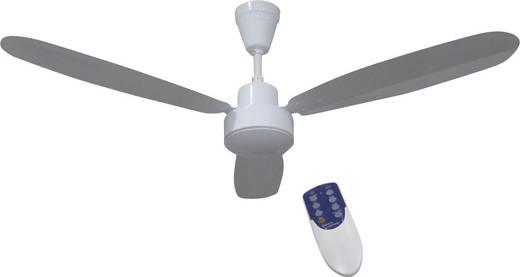 Deckenventilator Phaesun CF-RC 12V (Ø) 132 cm Flügelfarbe: Weiß Gehäusefarbe: Weiß