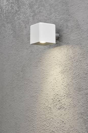 LED-Außenwandleuchte 3 W Warm-Weiß Konstsmide Amalfi Nova 7681-200 Weiß