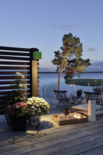Konstsmide Amalfi Nova 7681-600 LED-Außenwandleuchte 3 W Warm-Weiß Grün