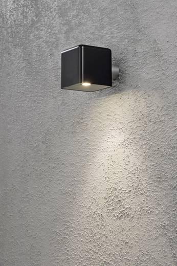 LED-Außenwandleuchte 3 W Warm-Weiß Konstsmide Amalfi Nova 7681-750 Schwarz
