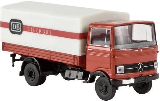 "Brekina 94861 H0 Mercedes Benz LP 608 Frontlenker PP ""DB Rollfuhrdienst"""