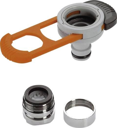 Hahn-Adapter M22 IG, M24 AG, Steckkupplung GARDENA för inomhuskranar 8187-20