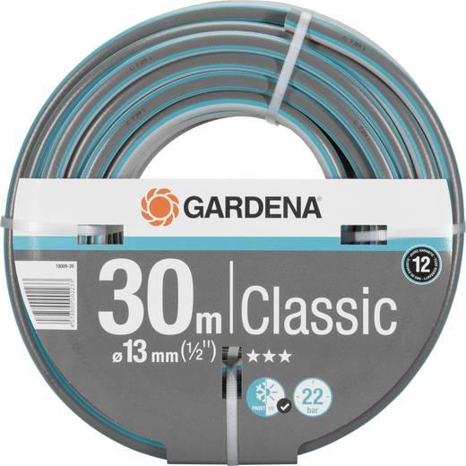 gartenschlauch 13 mm 1 2 zoll 30 m grau orange gardena 18009 20 kaufen. Black Bedroom Furniture Sets. Home Design Ideas