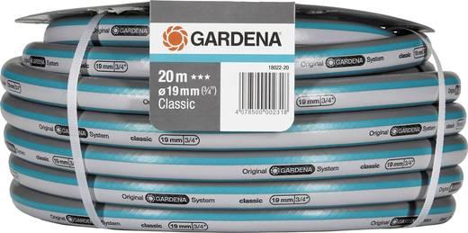 Gartenschlauch 19 mm 3/4 Zoll 20 m Grau, Blau GARDENA 18022-20