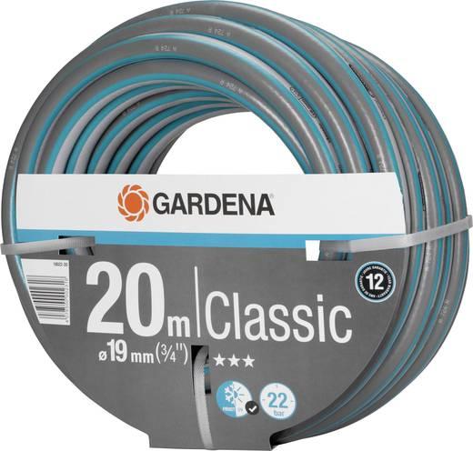 gartenschlauch 19 mm 3 4 zoll 20 m grau orange gardena 18022 20 kaufen. Black Bedroom Furniture Sets. Home Design Ideas