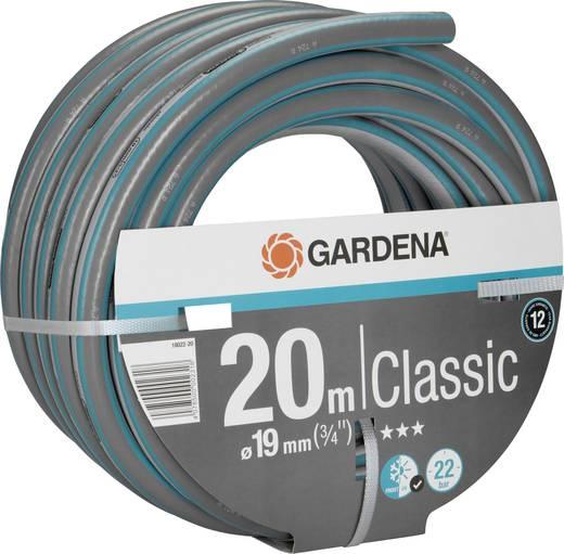 Gartenschlauch 19 mm 3/4 Zoll 20 m Grau, Orange GARDENA 18022-20