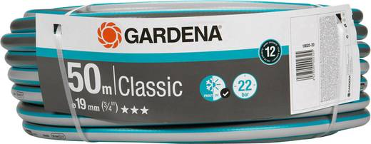 gartenschlauch 19 mm 3 4 zoll 50 m grau orange gardena 18025 20. Black Bedroom Furniture Sets. Home Design Ideas