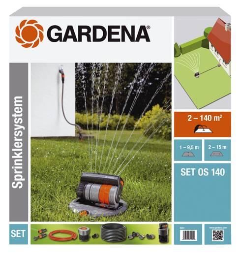 Versenk-Viereckregner Komplett-Set GARDENA OS 140 8221-20 2 - 140 m²
